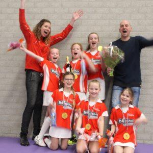 Korfbalclub Flamingo's | Pup E1 kampioen!