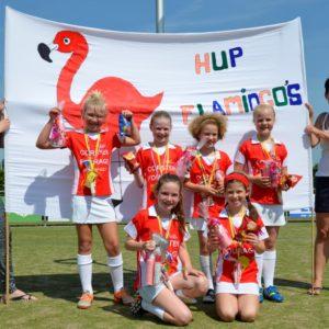 Korfbalclub Flamingo's   Pupillen E2 kampioen