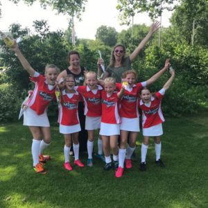 Korfbalclub Flamingo's | Pupillen E1 opnieuw kampioen