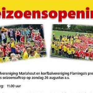 Korfbalclub Flamingo's | Seizoensopening 26 augustus