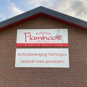 Korfbalclub Flamingo's | Dank aan onze sponsoren